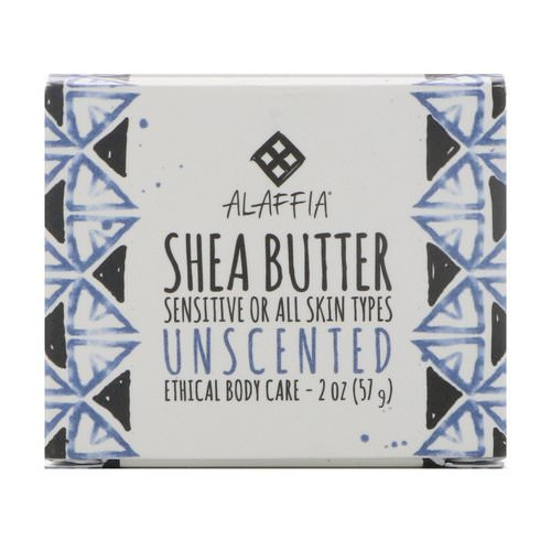 Alaffia, Shea Butter, Unscented, 2 oz (57 g) Review