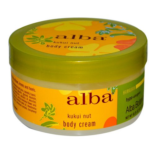 Alba Botanica, Body Cream, Kukui Nut, 6.5 oz (180 g) Review