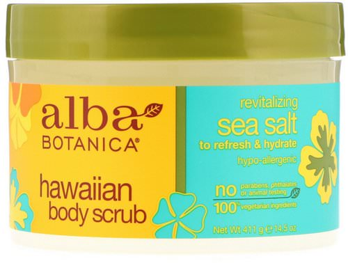 Alba Botanica, Hawaiian Body Scrub, 14.5 oz (411 g) Review
