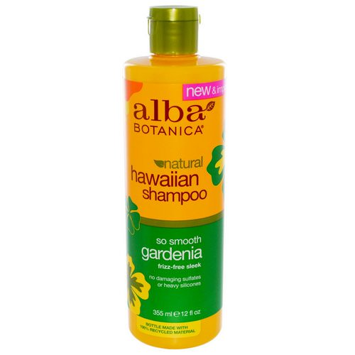 Alba Botanica, Natural Hawaiian Shampoo, So Smooth Gardenia, 12 fl oz (355 ml) Review