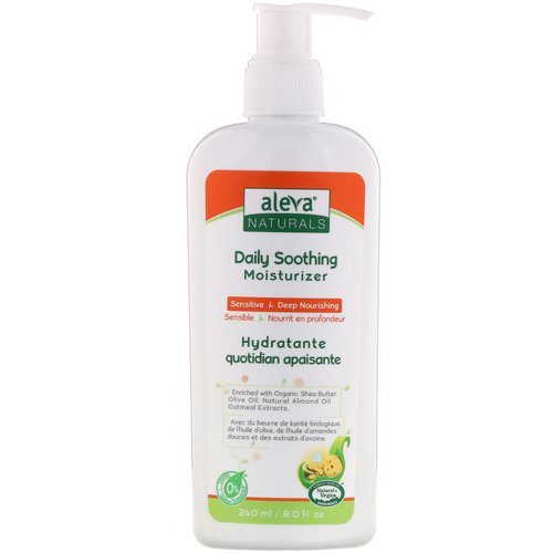 Aleva Naturals, Daily Soothing Moisturizer, 8.0 fl oz (240 ml) Review
