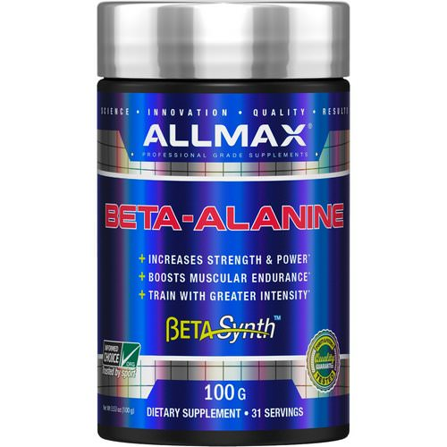 ALLMAX Nutrition, Beta-Alanine, 3.53 oz (100 g) Review