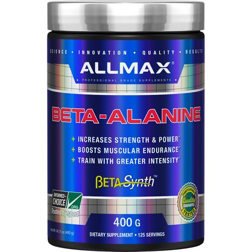 ALLMAX Nutrition, Beta-Alanine, 14.11 oz (400 g) Review