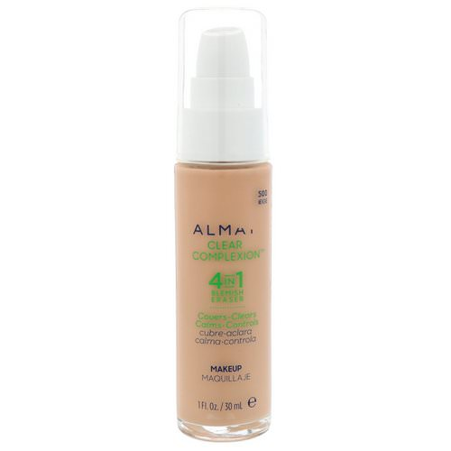 Almay, Clear Complexion Makeup, 500 Beige, 1 fl oz (30 ml) Review