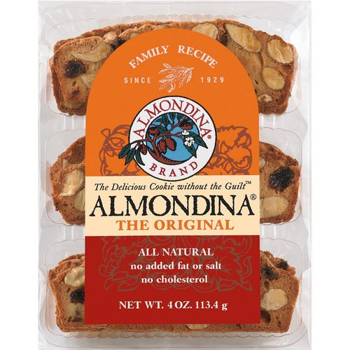 Almondina, The Original Almond Biscuits, 4 oz (113 g) Review