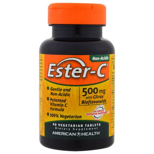American Health, Ester-C, 500 mg, 90 Veggie Tabs Review