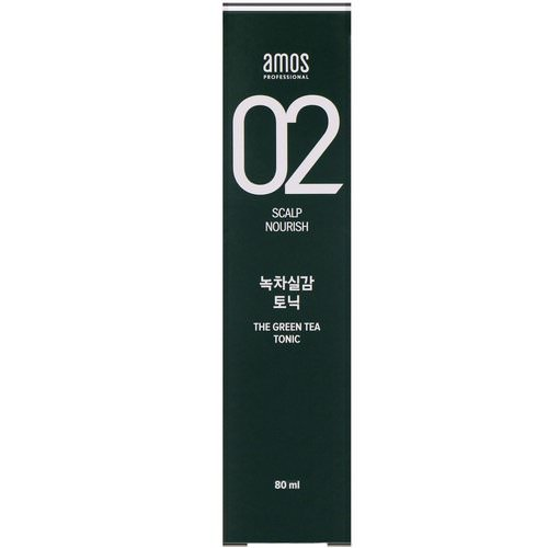 Amos, 02 Scalp Nourish, The Green Tea Pack, 250 ml Review