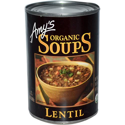 Amy's, Organic Soups, Lentil, 14.5 oz (411 g) Review