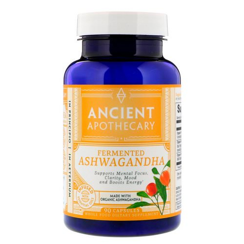 Ancient Apothecary, Fermented Ashwagandha, 90 Capsules Review