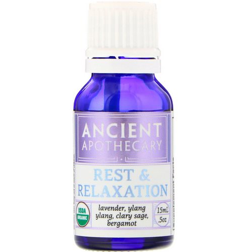 Ancient Apothecary, Rest and Relaxation, .5 oz (15 ml) Review
