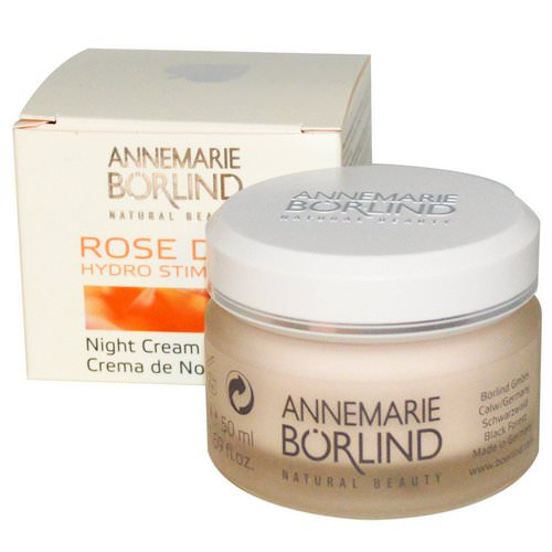 AnneMarie Borlind, Hydro Stimulant Night Cream, Rose Dew, 1.69 fl oz (50 ml) Review