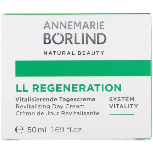 AnneMarie Borlind, LL Regeneration, Revitalizing Day Cream, 1.69 fl oz (50 ml) Review