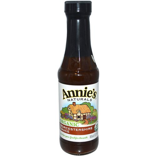 Annie's Naturals, Organic, Worcestershire Sauce, 6.25 fl oz (185 ml) Review