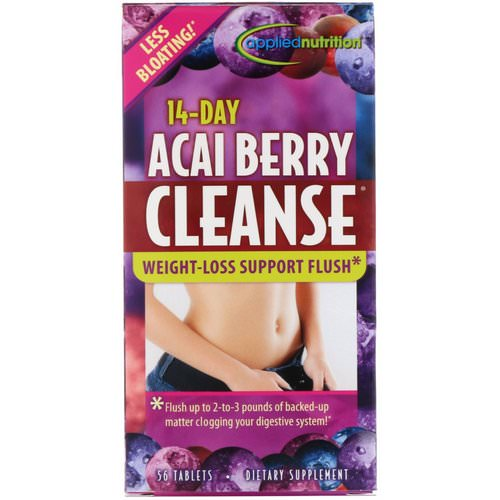 appliednutrition, 14-Day Acai Berry Cleanse, 56 Tablets Review