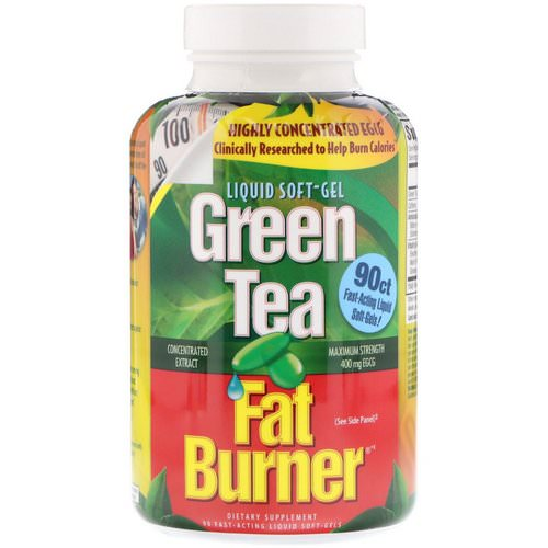 appliednutrition, Green Tea Fat Burner, 90 Fast-Acting Liquid Soft-Gels Review