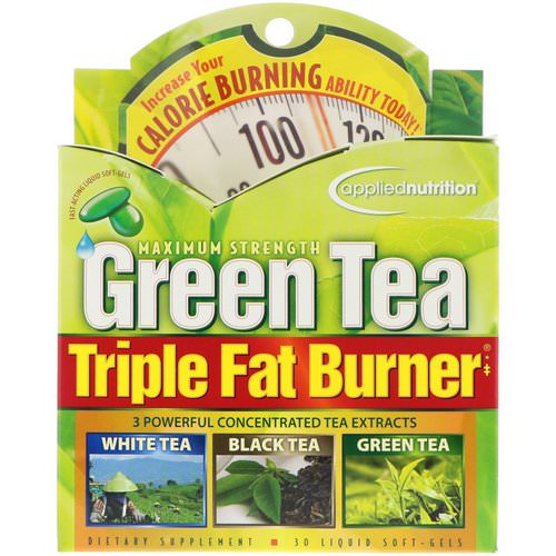 appliednutrition, Green Tea Triple Fat Burner, 30 Liquid Softgels Review