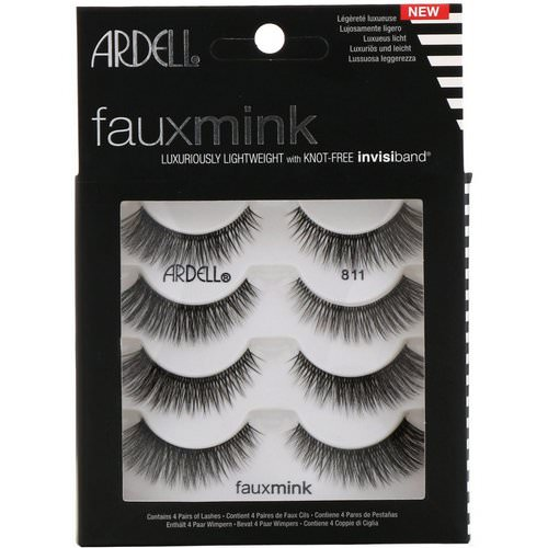 Ardell, Faux Mink, Luxuriously Lightweight Lash, 4 Pairs Review