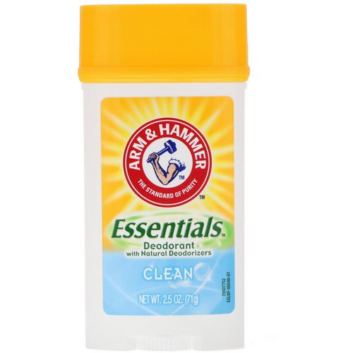 Arm & Hammer, Essentials with Natural Deodorizers, Deodorant, Clean Juniper Berry, 2.5 oz (71 g) Review