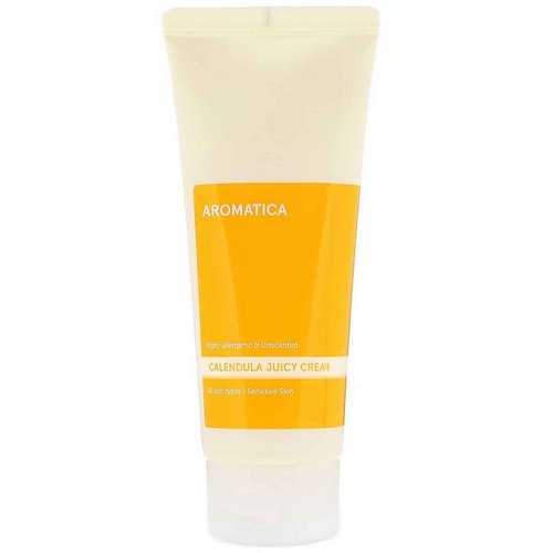 Aromatica, Calendula Juicy Cream, 5.2 oz (150 g) Review