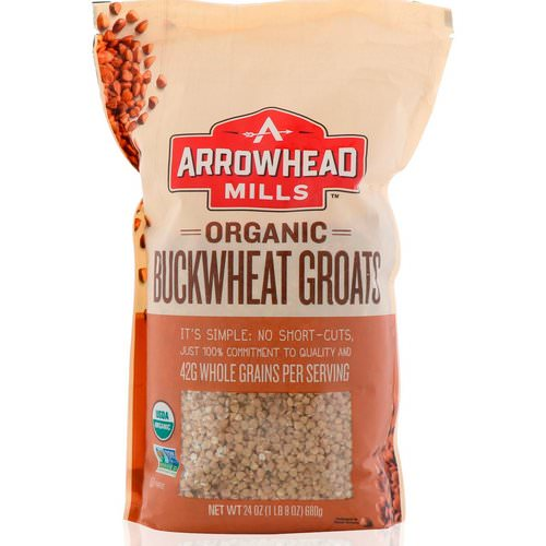 Arrowhead Mills, Organic, Buckwheat Groats, 1.5 lbs (680 g) Review