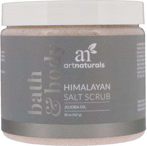 Artnaturals, Himalayan Salt Scrub, 20 oz (567 g) Review