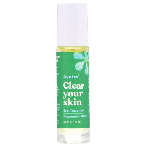 Asutra, Clear Your Skin, Spot Treatment, .34 fl oz (10 ml) Review