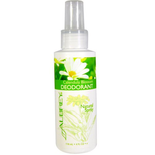 Aubrey Organics, Calendula Blossom Deodorant, Natural Spray, 4 fl oz (118 ml) Review