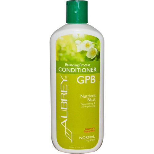 Aubrey Organics, GPB Balancing Protein Conditioner, Rosemary Peppermint, Normal, 11 fl oz (325 ml) Review