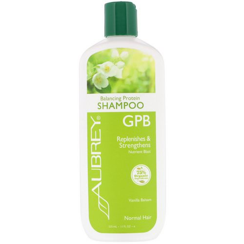 Aubrey Organics, GPB, Balancing Protein Shampoo, Normal Hair, Vanilla Balsam, 11 fl oz (325 ml) Review
