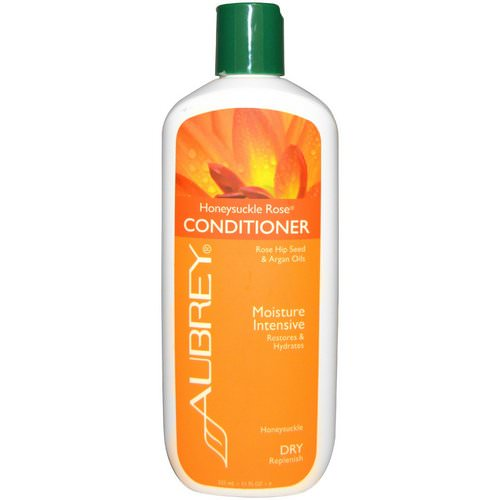Aubrey Organics, Honeysuckle Rose Conditioner, Restores & Hydrates, Dry Hair, 11 fl oz (325 ml) Review