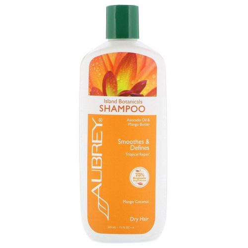 Aubrey Organics, Island Botanicals Shampoo, Dry Hair, Mango Coconut, 11 fl oz (325 ml) Review