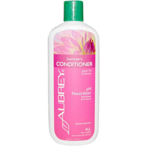 Aubrey Organics, Swimmer's Conditioner, pH Neutralizer, All Hair Types, 11 fl oz (325 ml) Review