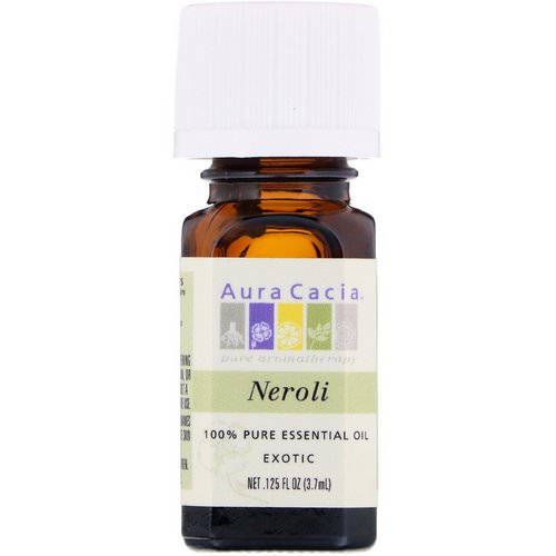 Aura Cacia, 100% Pure Essential Oil, Neroli, .125 fl oz (3.7 ml) Review