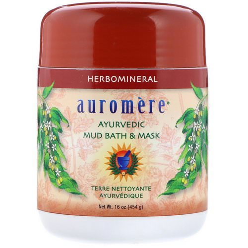 Auromere, Ayurvedic Mud Bath & Mask, 16 oz (454 g) Review