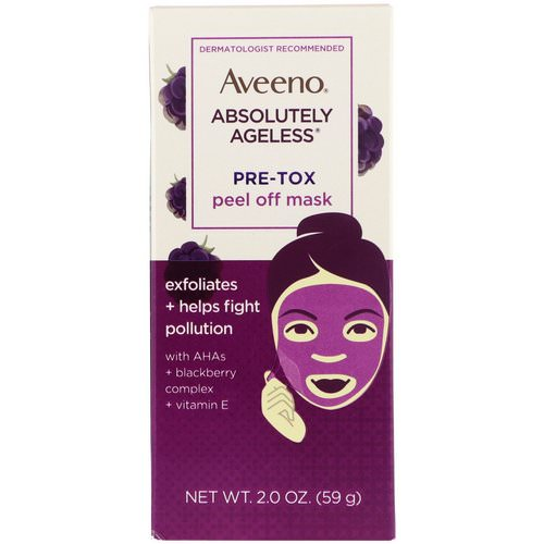 Aveeno, Absolutely Ageless, Pre-Tox Peel Off Mask, 2 oz (59 g) Review