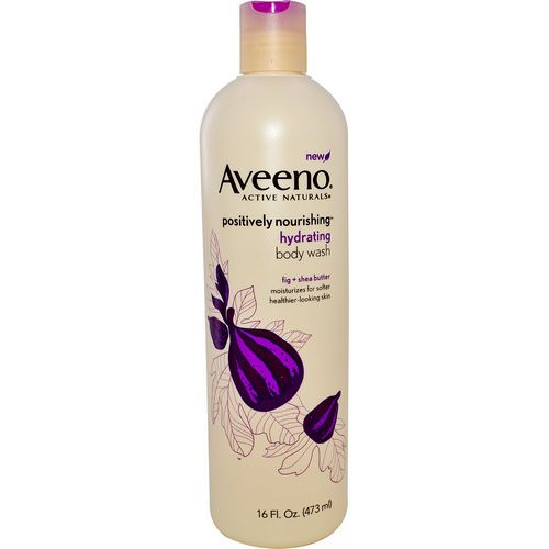 Aveeno, Active Naturals, Positively Nourishing, Hydrating Body Wash, 16 fl oz (473 ml) Review