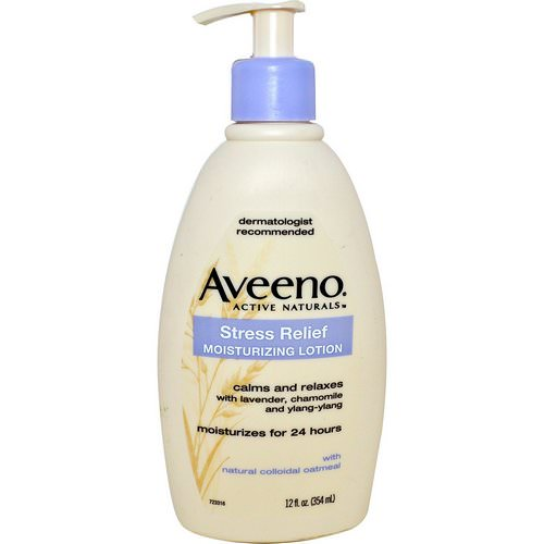 Aveeno, Active Naturals, Stress Relief Moisturizing Lotion, 12 fl oz (354 ml) Review