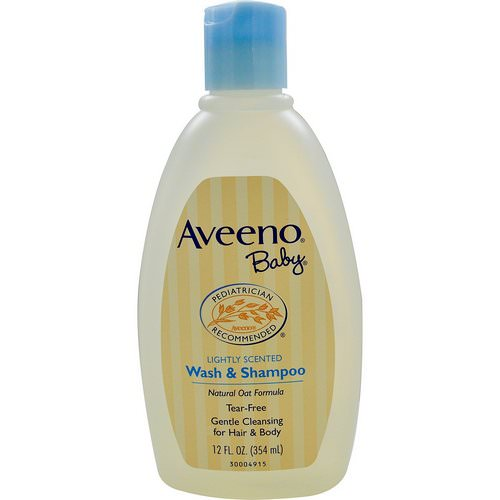 Aveeno, Baby, Wash & Shampoo, Lightly Scented, 12 fl oz (354 ml) Review
