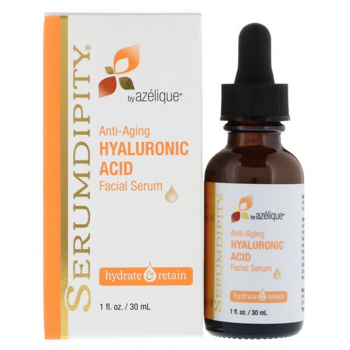 Azelique, Serumdipity, Anti-Aging Hyaluronic Acid, Facial Serum, 1 fl oz (30 ml) Review