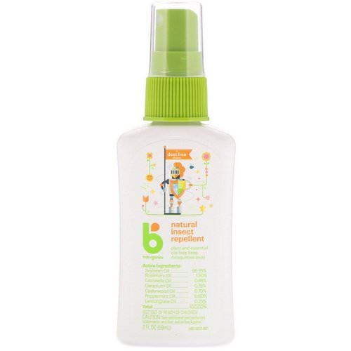 BabyGanics, Natural Insect Repellent, 2 fl oz (59 ml) Review