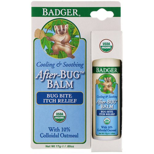 Badger Company, After-Bug Balm, .60 oz (17 g) Review