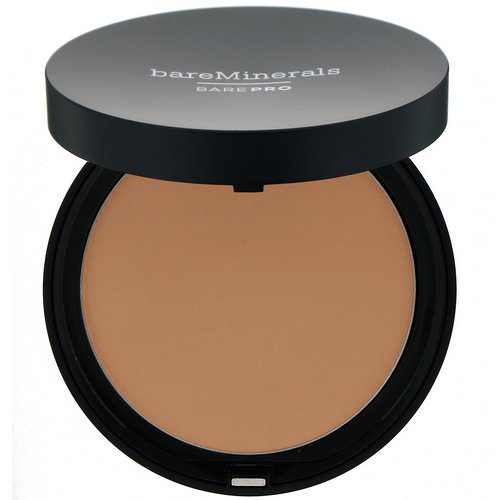 Bare Minerals, BAREPRO, Performance Wear Powder Foundation, Golden Ivory 08, 0.34 oz (10 g) Review