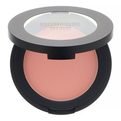 Bare Minerals, Gen Nude Powder Blush, Pretty In Pink, 0.21 oz (6 g) Review