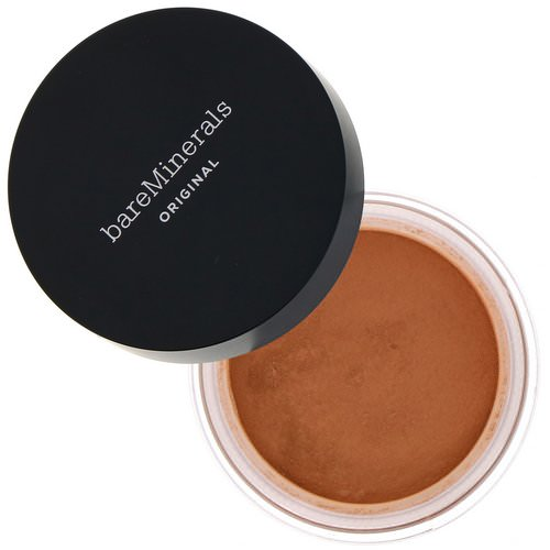 Bare Minerals, Original Foundation, SPF 15, Golden Dark 25, 0.28 oz (8 g) Review