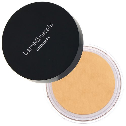 Bare Minerals, Original Foundation, SPF 15, Golden Medium 14, 0.28 oz (8 g) Review