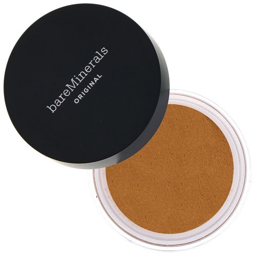 Bare Minerals, Original Foundation, SPF 15, Neutral Dark 24, 0.28 oz (8 g) Review