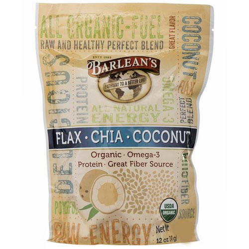 Barlean's, Flax-Chia-Coconut Blend, 12 oz (340 g) Review