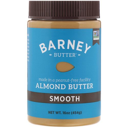 Barney Butter, Almond Butter, Smooth, 16 oz (454 g) Review