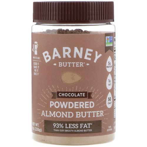 Barney Butter, Powdered Almond Butter, Chocolate, 8 oz (226 g) Review