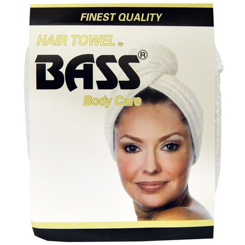 Bass Brushes, Super Absorbent Hair Towel, White, 1 Piece Review